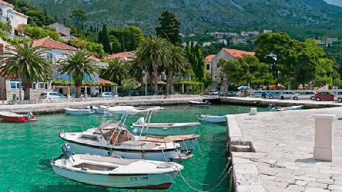 Petit port de Milni