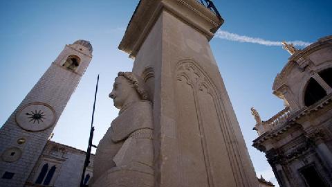 Colonne de Roland Dubrovnik