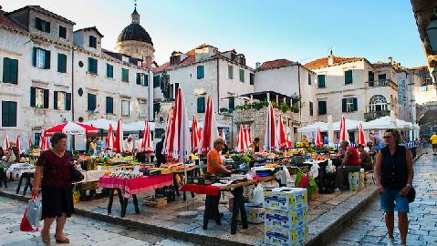 place Gunduliceva poljana Dubrovnik