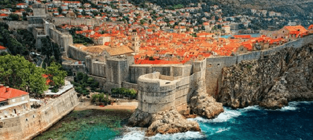 Les circuits Game of Thrones à Dubrovnik