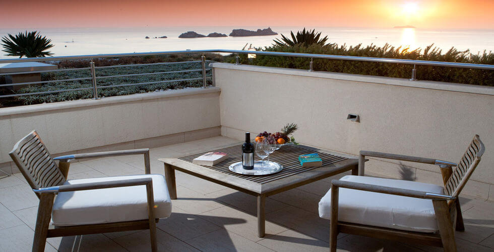 Terrasse Coucher de Soleil Dubrovnik