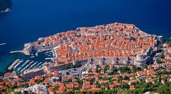 Vue Mont Srd Dubrovnik